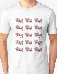 A Herd of Pink Buffalo T-Shirt
