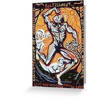 'Fulfillment' Greeting Card