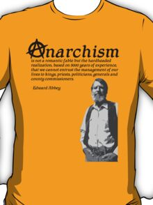 Anarchism is not T-Shirt