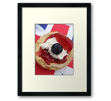 The Great British Scone Framed Print