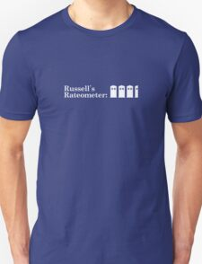 Russell's Rateometer (WHITE) T-Shirt