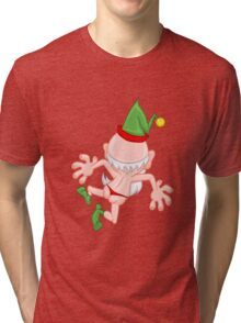 Crazy elf Tri-blend T-Shirt