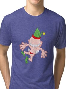 Crazy elf Tri-blend T-Shirt