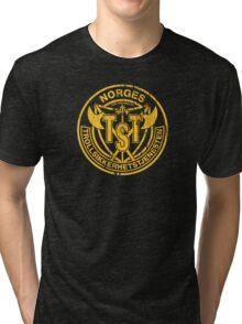 Troll Security service Tri-blend T-Shirt