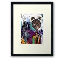 That Young Girl Framed Print