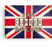 I AM CUMBERBATCHED (UK Edition) Metal Print