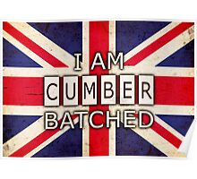 I AM CUMBERBATCHED (UK Edition) Poster