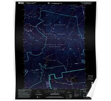 USGS TOPO Map New Hampshire NH Mount Tripyramid 329683 1995 24000 Inverted Poster