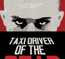 Taxi Driver of the Dead Sticker