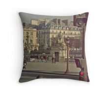 The City Streets Throw Pillow