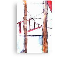 Behind the Bars Canvas Print