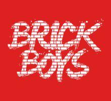 'Brick Boys' (white) Kids Clothes