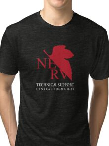 B20 Technical Support chest option Tri-blend T-Shirt