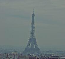 Eiffel Tower by amylauroo