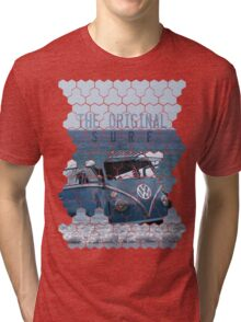 Original Surf Bus Geo Tri-blend T-Shirt