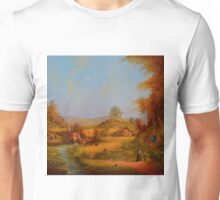A View To The Hill. Unisex T-Shirt