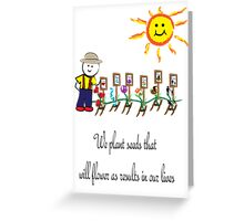 Cultivating Life Greeting Card