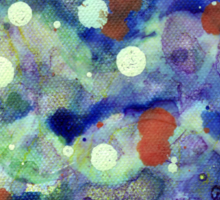 Transparent war of Color's V2 Sticker