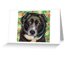 "Sweet Rescue Dog ""Zoe"" Greeting Card"