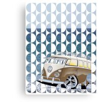 Splitty Geo Canvas Print
