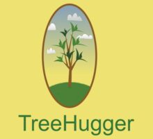 tree hugger nature lover tee Kids Tee