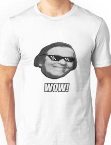 Wally Wow! The MLG Meme Wow Guy. Unisex T-Shirt