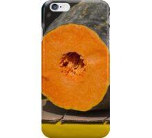 pumpkin in autumn iPhone Case/Skin