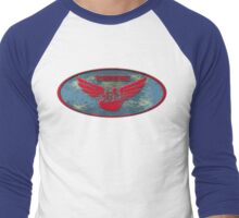 The Baron Red Wings Men's Baseball ¾ T-Shirt