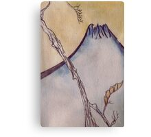 Japanese Mountain Canvas Print