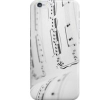 Music book iPhone Case/Skin