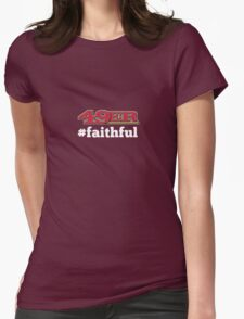 San Francisco 49er Faithful Womens Fitted T-Shirt