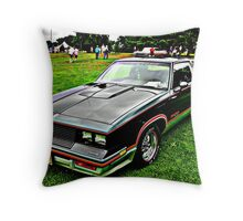 15th Anniversary Hurst OLD's Throw Pillow