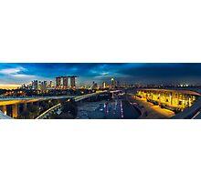 Marina Barrage Photographic Print