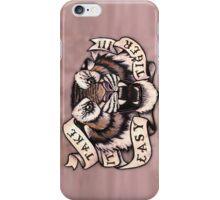 Take it Easy Tiger iPhone Case/Skin
