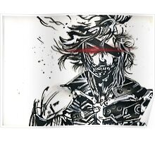 Raiden from metal gear solid (2) Poster