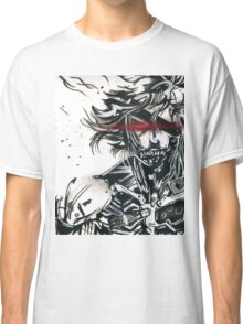 Raiden from metal gear solid (2) Classic T-Shirt