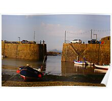 Mousehole Harbour, Cornwall England Poster