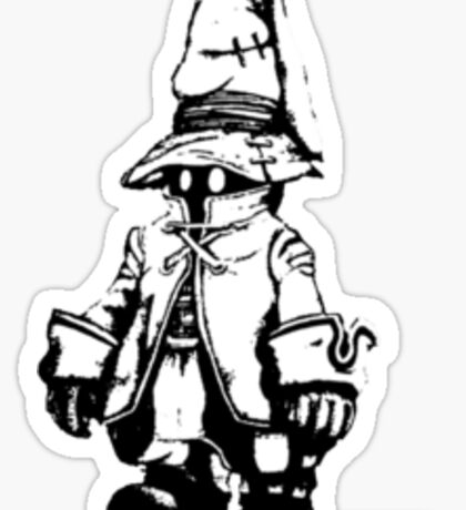 Just Vivi - Monochrome sml Sticker