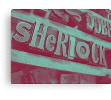 Sherlock ~ Skulls Canvas Print
