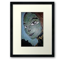 Alien world. Framed Print