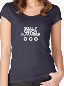 Scully - Gibson - Du Maurier Women's Fitted Scoop T-Shirt