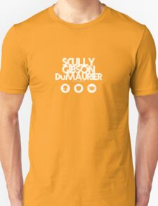 Scully - Gibson - Du Maurier Unisex T-Shirt