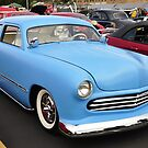 Chopped Top Baby Blue Merc by BLAKSTEEL