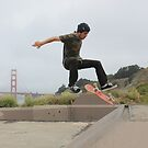 San Francisco Skateboarder by jritucci