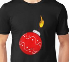Christmas bomb decoration Unisex T-Shirt