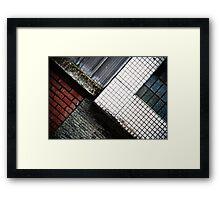 Material Framed Print