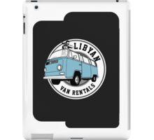Back to the Future 'Libyan Van Rentals' Logo iPad Case/Skin