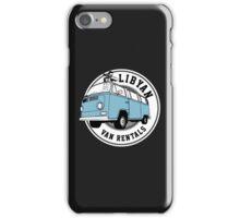 Back to the Future 'Libyan Van Rentals' Logo iPhone Case/Skin