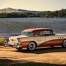 1956 Buick 3 by Stuart Row