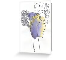 First date Greeting Card
